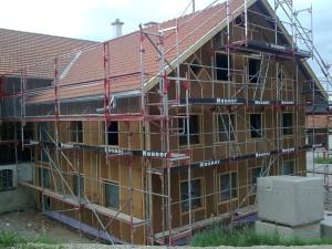 Fassadendämmung 1